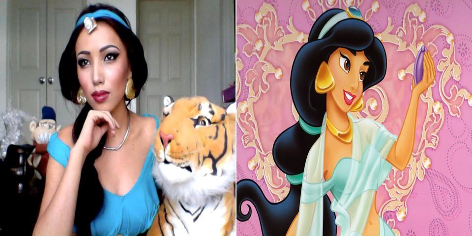 Maquillage jasmine disney - Maquillage princesse disney ...