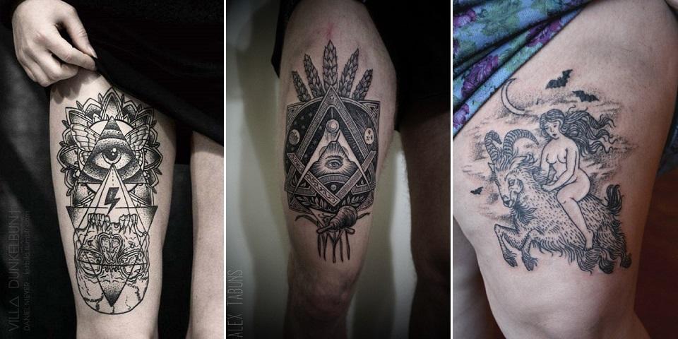 19 Tatouages Esoteriques Fascinants Mais Un Peu Flippants