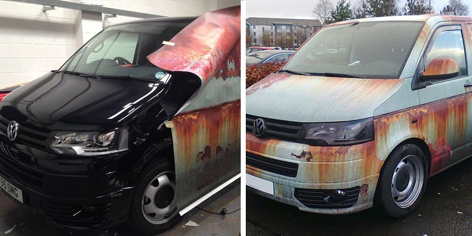 Ex Spray Painted Car What Can I Do