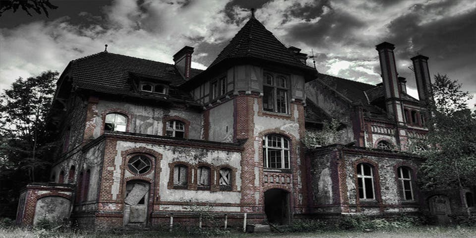 maison hantee en anglais