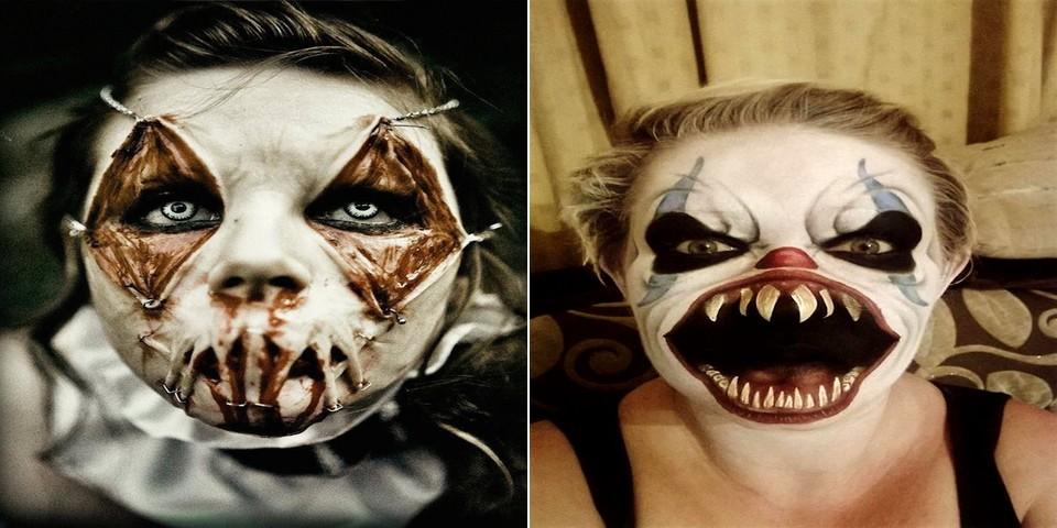 22 maquillages terrifiants pour halloween qui vont vous donner des frissons. Black Bedroom Furniture Sets. Home Design Ideas