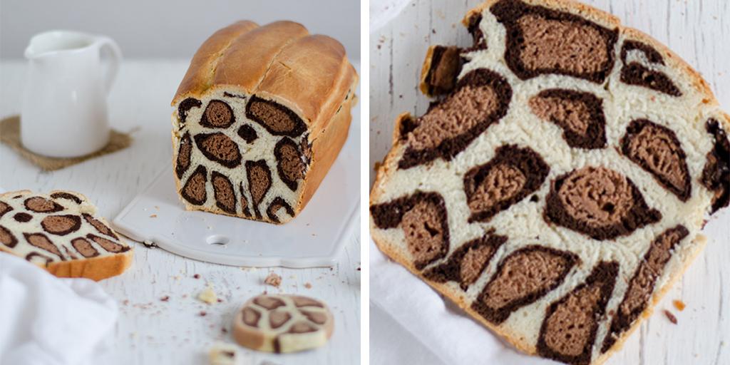 recette gourmande pour les f tes un g teau l opard chocolat et lait. Black Bedroom Furniture Sets. Home Design Ideas