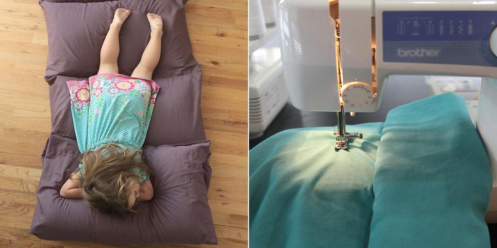 voici comment fabriquer un matelas pour vos enfants sans effort. Black Bedroom Furniture Sets. Home Design Ideas
