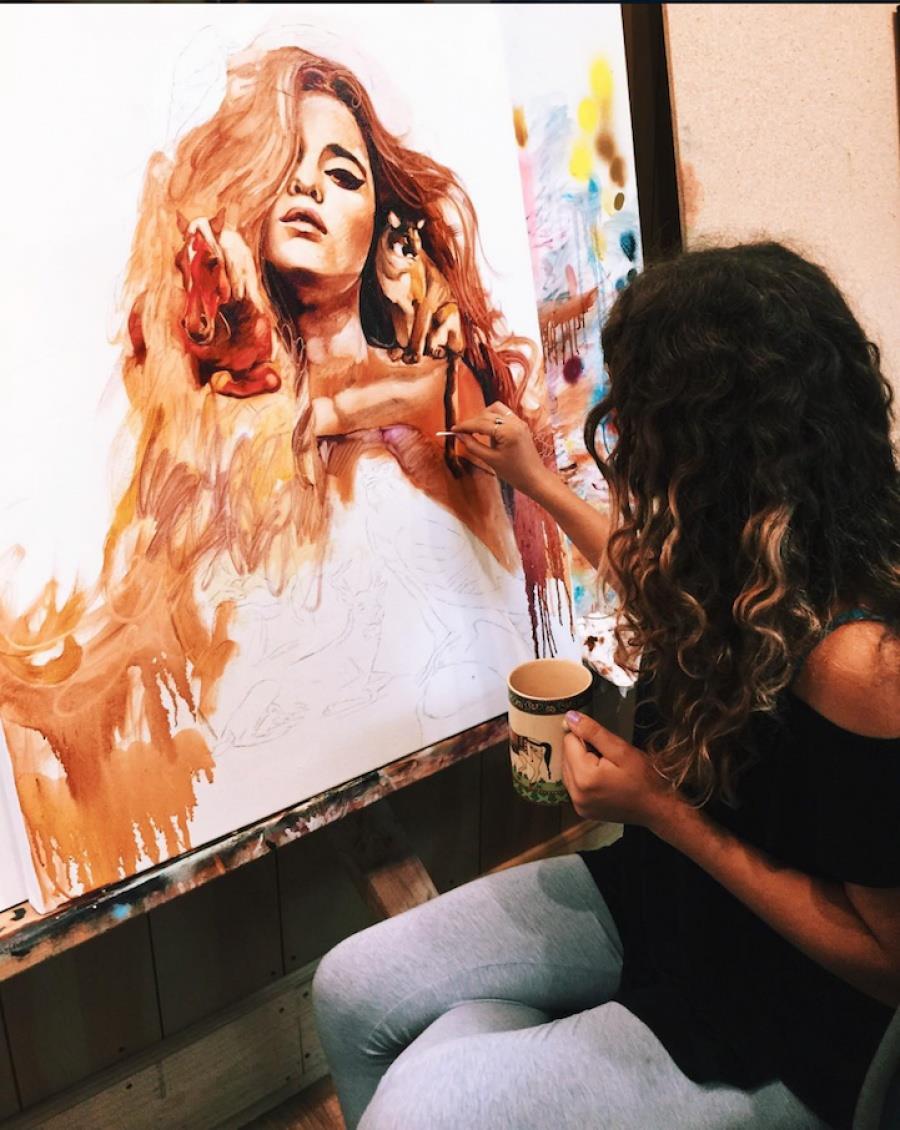 incroyable talent le peintre