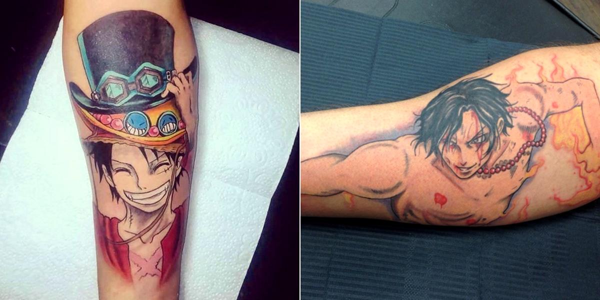 16 tatouages stylés inspirés du manga one piece