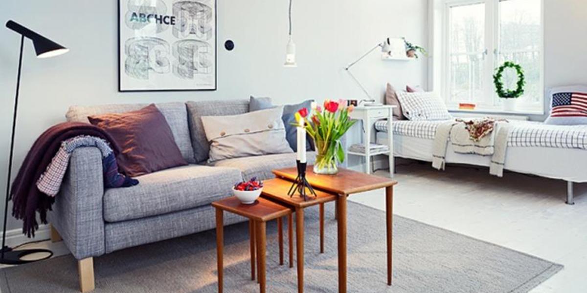 10 astuces pour agrandir votre petit appartement. Black Bedroom Furniture Sets. Home Design Ideas