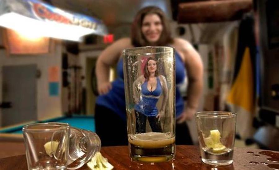 Phénomène appelé le Beer goggles