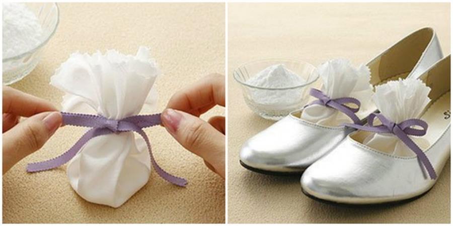 bicarbonate de soude pied odeurs chaussures