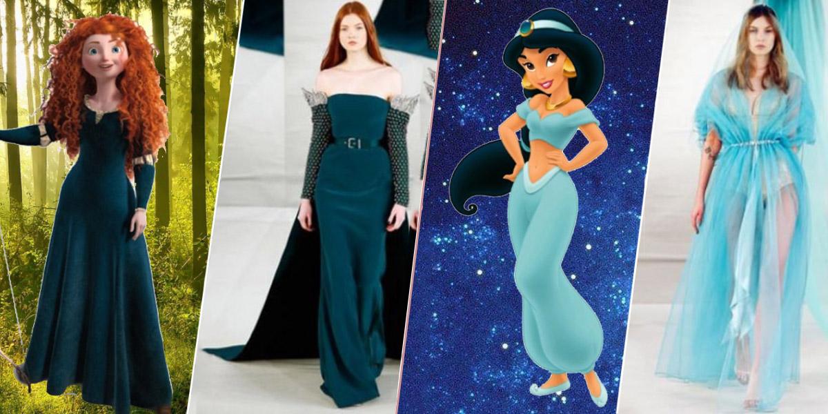 De Robes Inspirées Disney 12 Des Couture Haute Princesses lFJK1Tc