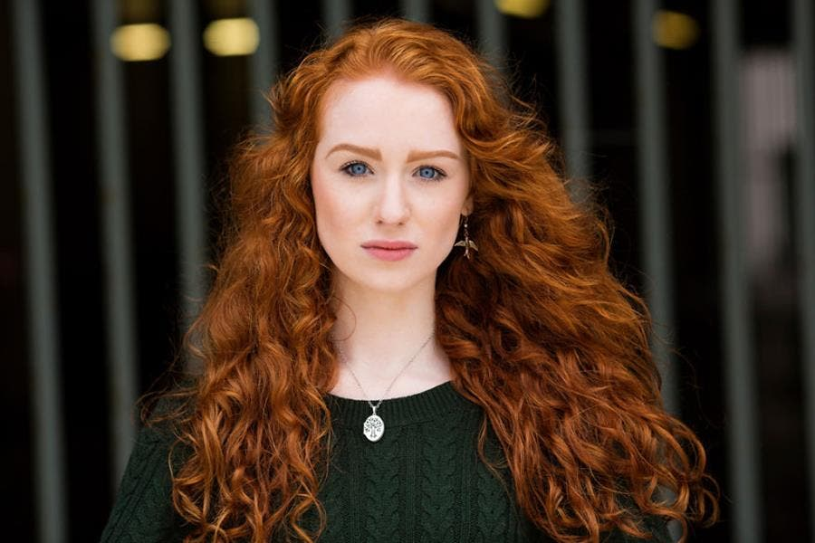 Brian Dowling photographie Redhead Beauty Elias Belfast Irlande Nord