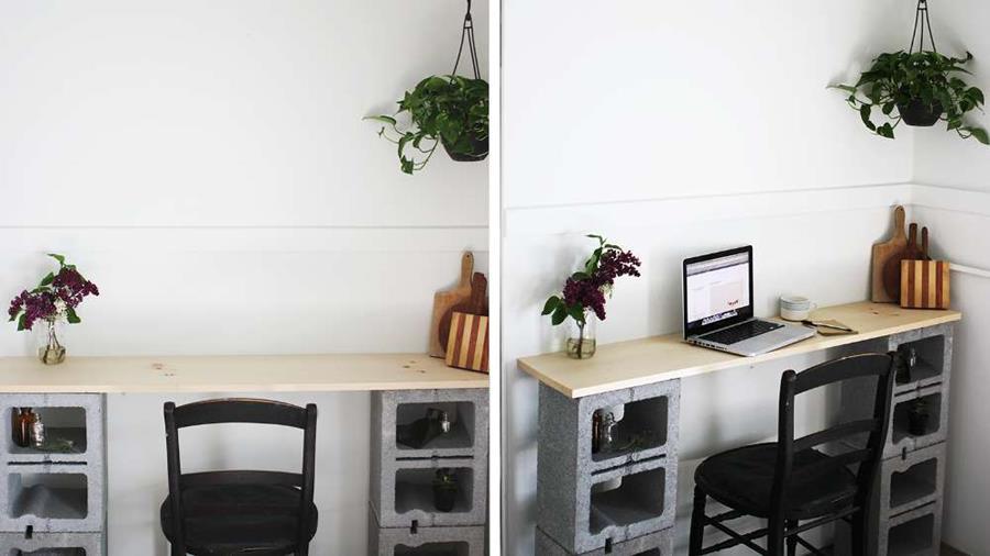 cette femme peut tout construire avec quelques blocs de parpaing page 2. Black Bedroom Furniture Sets. Home Design Ideas