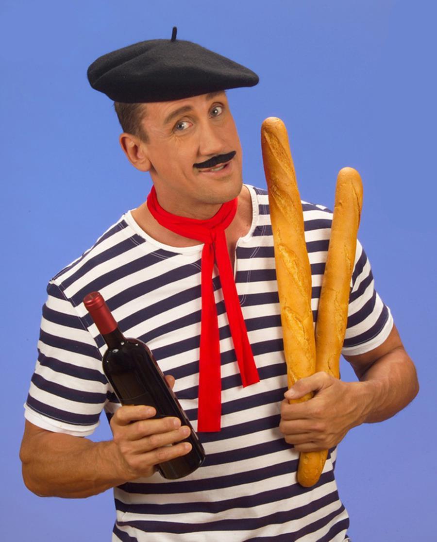 HUMOUR : L'esprit français ? (Un peu d'humour ne nuit pas !) France-beret-baguette-vin-mariniere