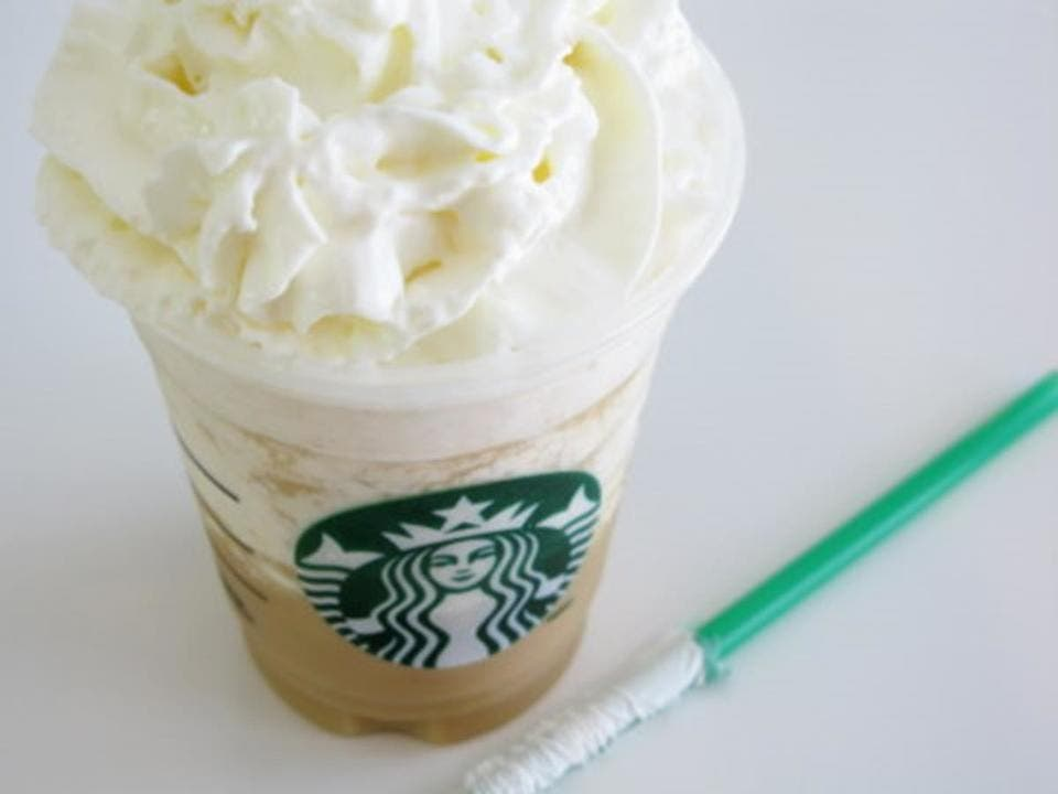 white chocolate mocha frappuccino