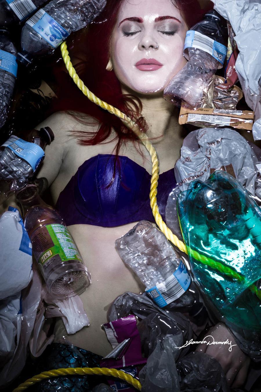 Shannon Dermody princesses Disney maux société Ariel pollution