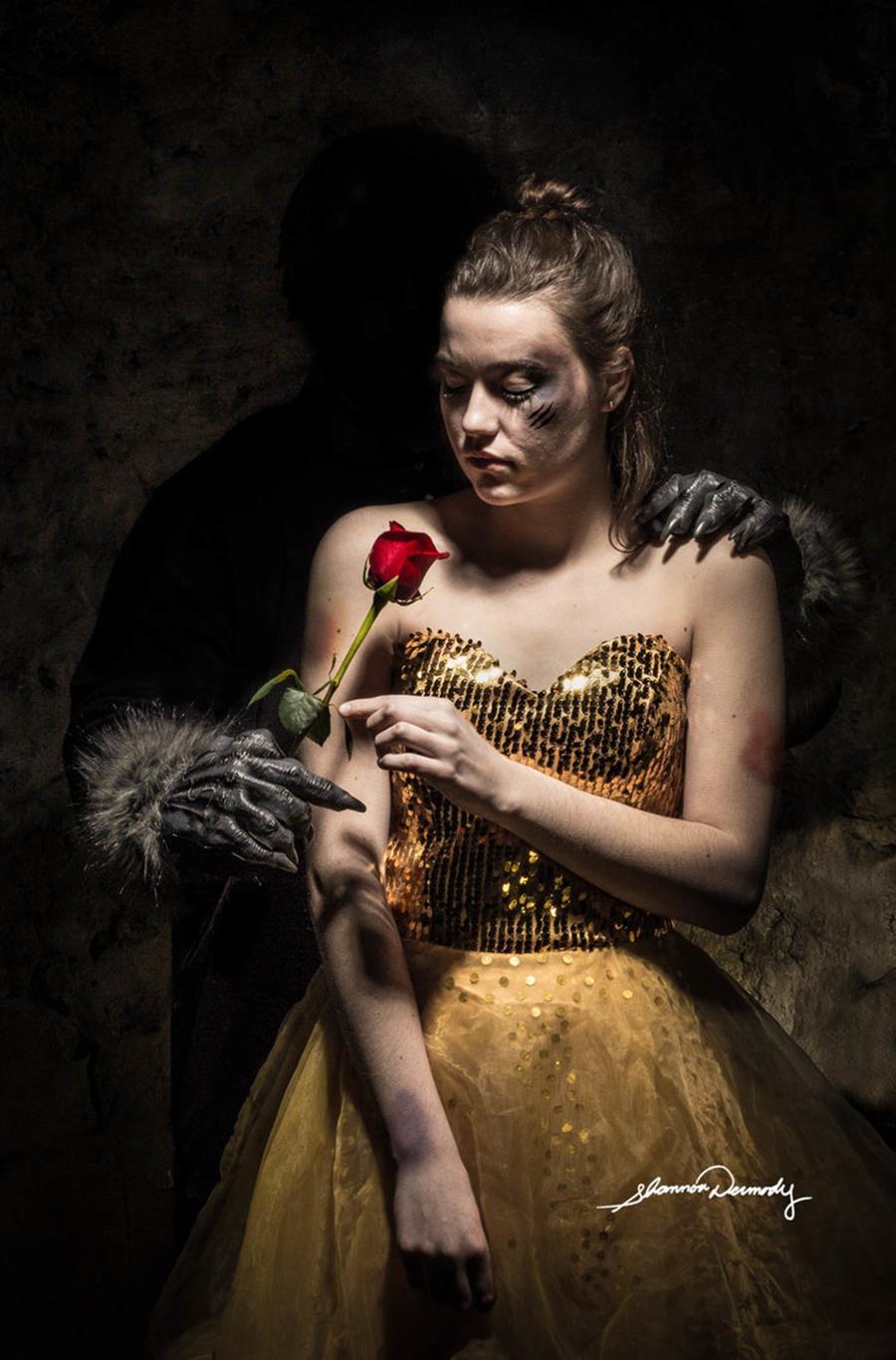 Shannon Dermody princesses Disney maux société Belle violences conjuguales