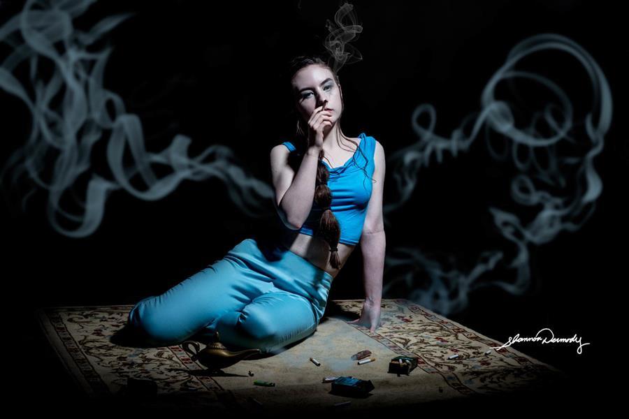 Shannon Dermody princesses Disney maux société Jasmine tabac