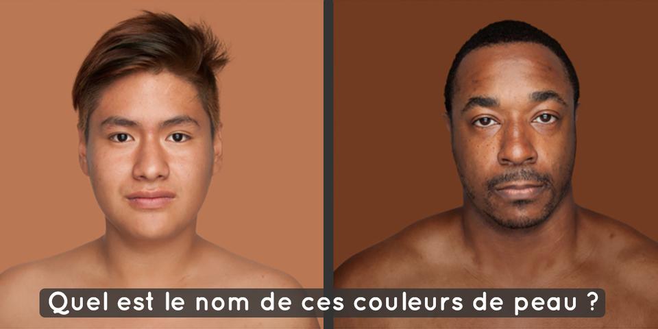 Cette Photographe Fait Un Pantone Avec Les Différentes Couleurs De Peau