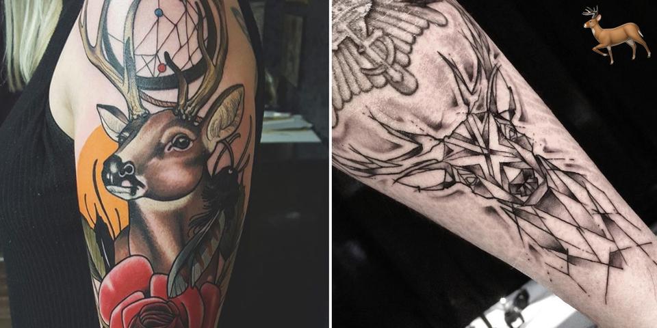 Quelles sont l 39 histoire et la signification du tatouage cerf - Tatouage cerf signification ...