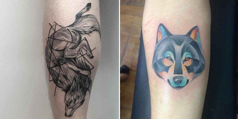 L Histoire Et La Signification Du Tatouage Du Loup