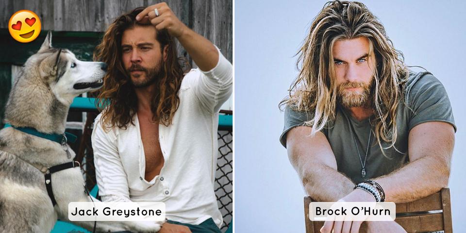 Les femmes aiment les hommes aux cheveux longs