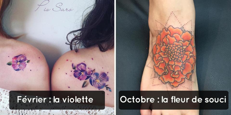 Si Vous Aimez Les Tatouages Symboliques Pensez A Votre Fleur De