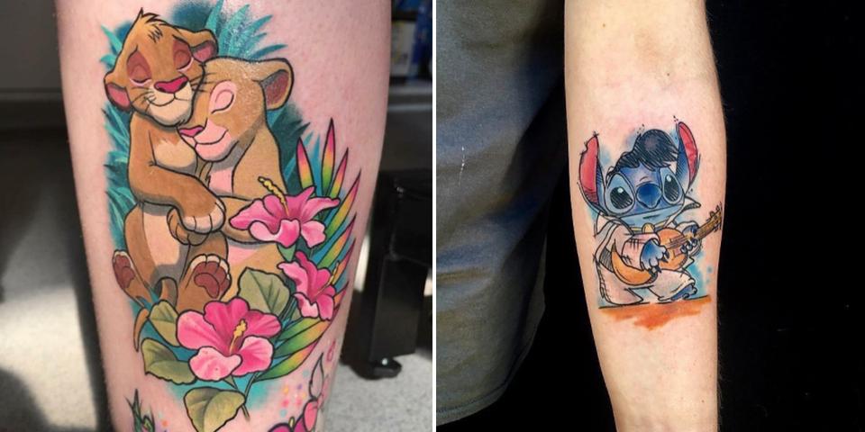 13 Tatouages Disney Qui Vont Vous Faire Retomber En Enfance