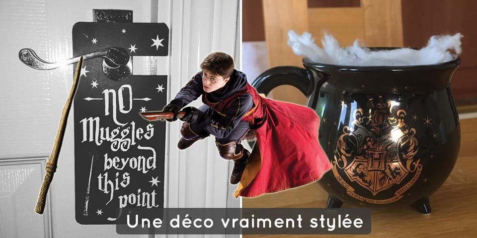 Une marque lance sa d co maison harry potter pour une for Decoration maison harry potter