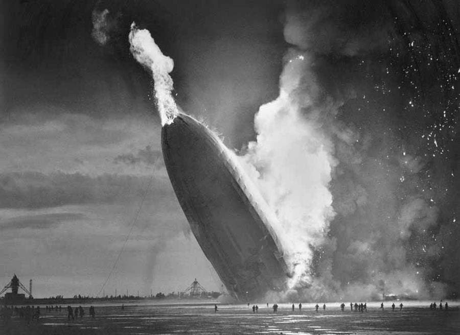 hindenburg, accident