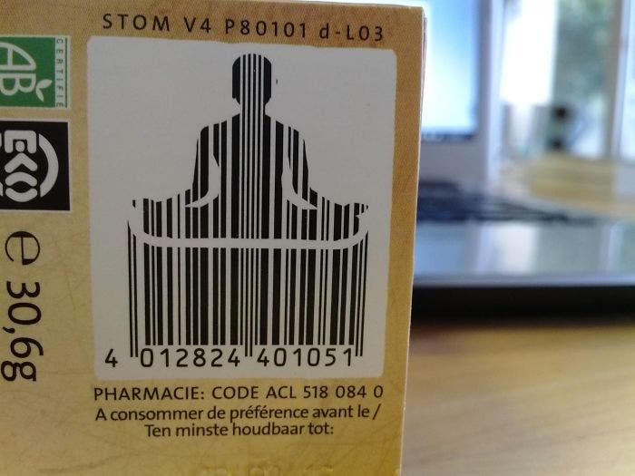 the barcode code barres