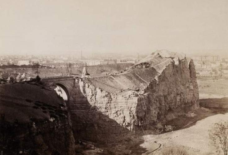 1863, parc, buttes, chaumont