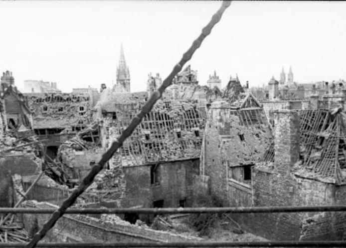 caen, 1944