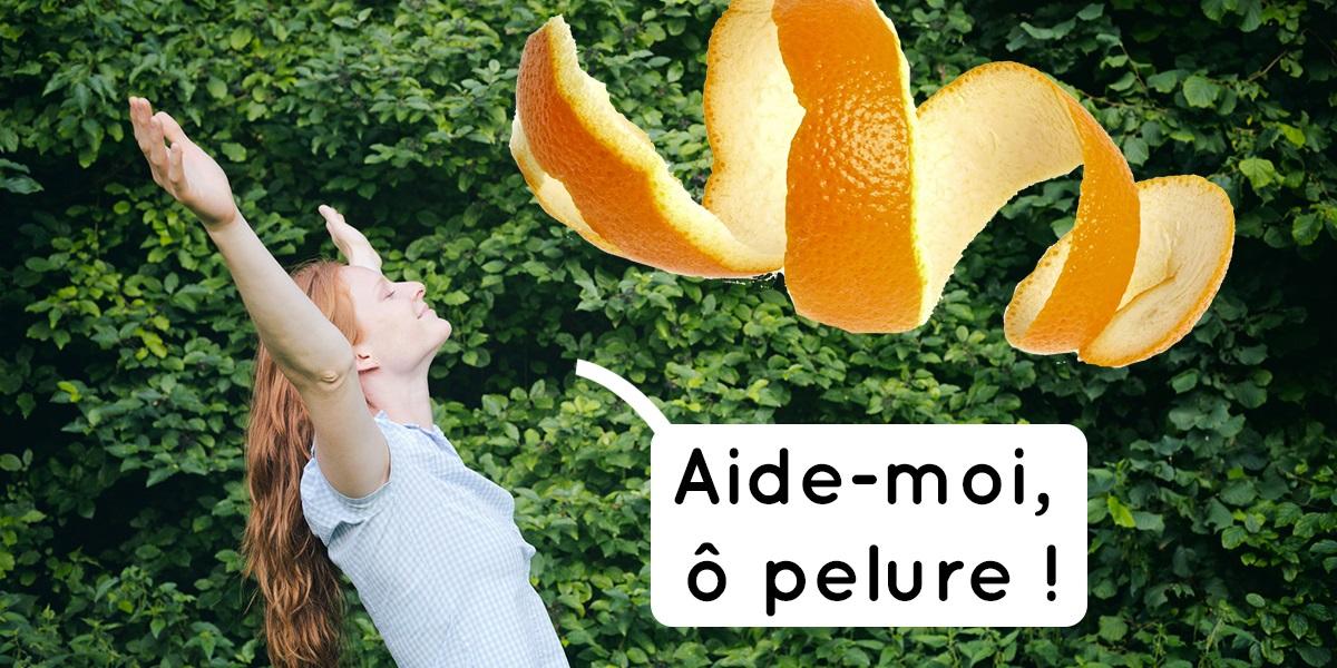 Ne jetez plus vos pluchures d 39 orange faites en un - Pelure d orange pour parfumer ...