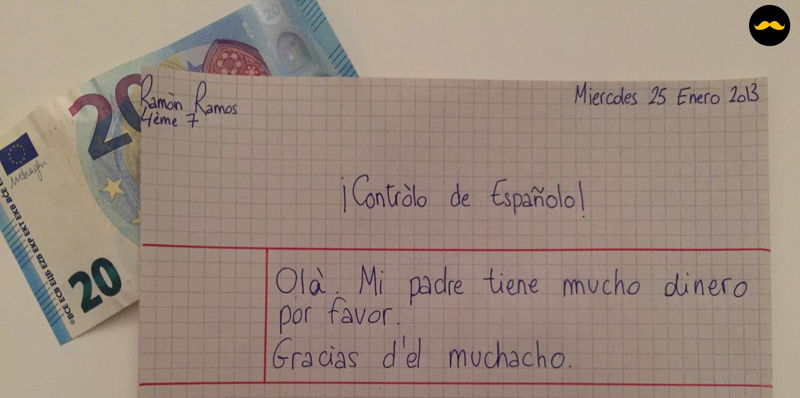 espagnol et soudoiement