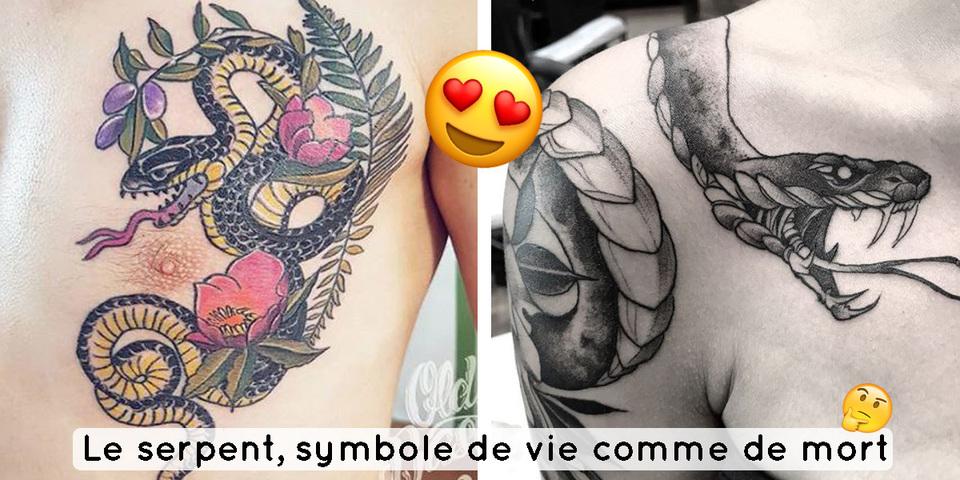 12 Tatouages De Serpent Symbole De Vie Et De Mort