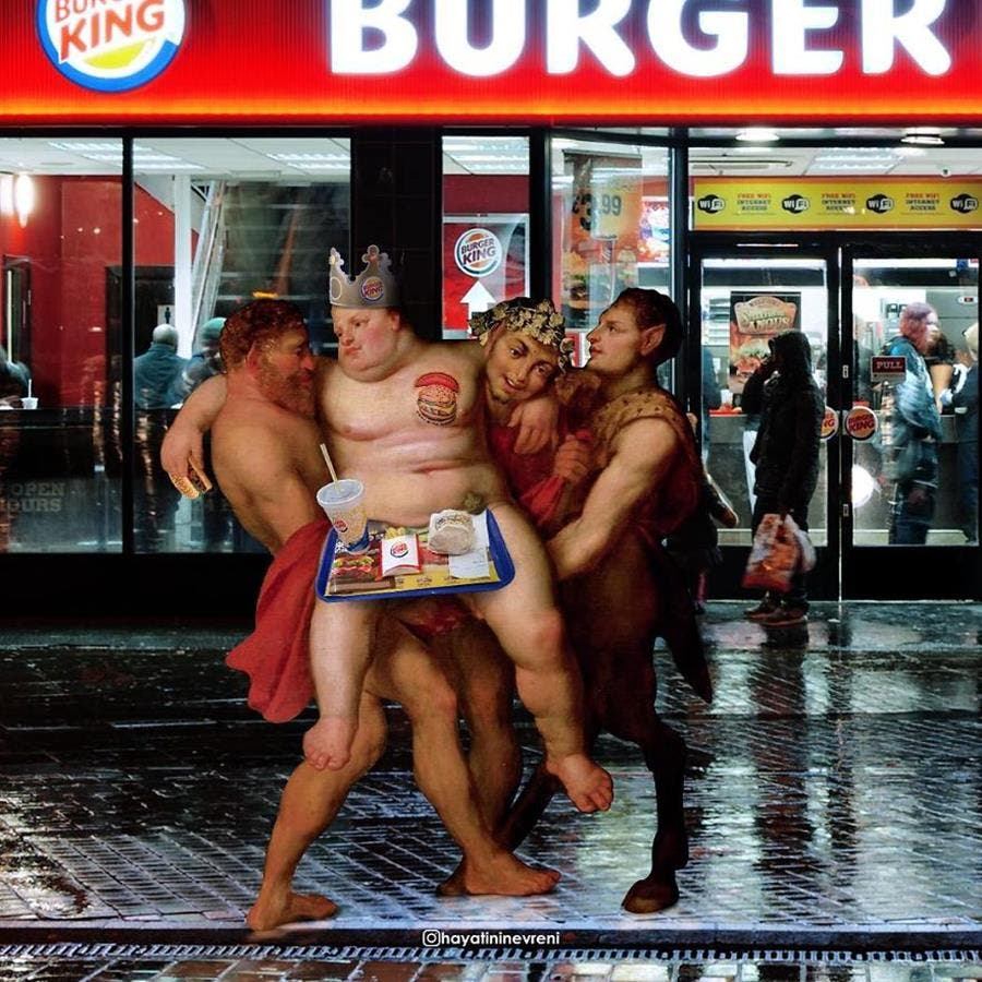 burger king, manger