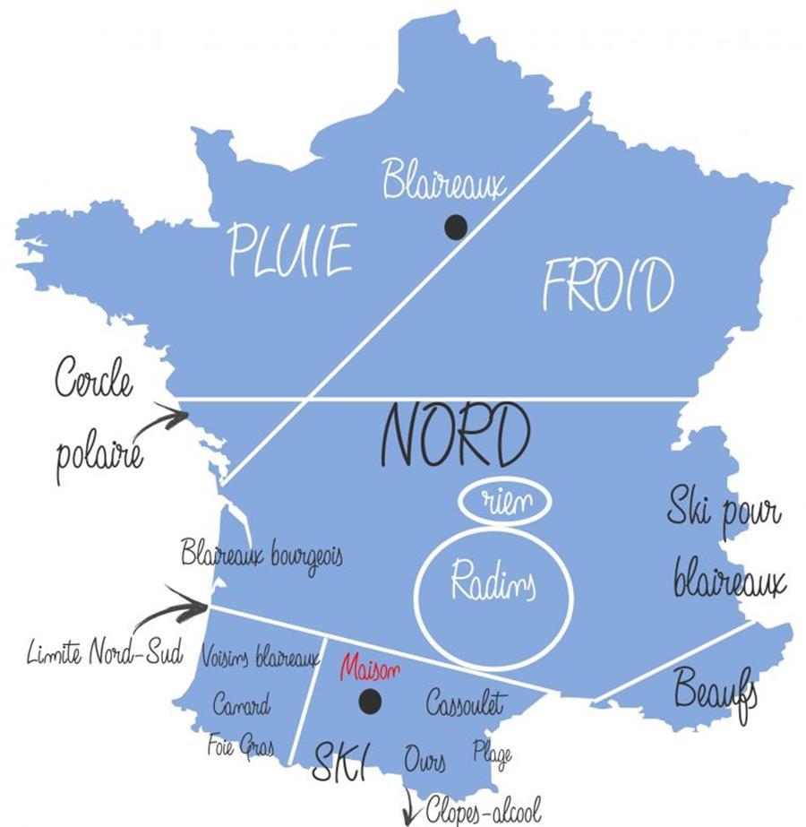13 cartes hilarantes de la France vue par différentes régions - Page 2
