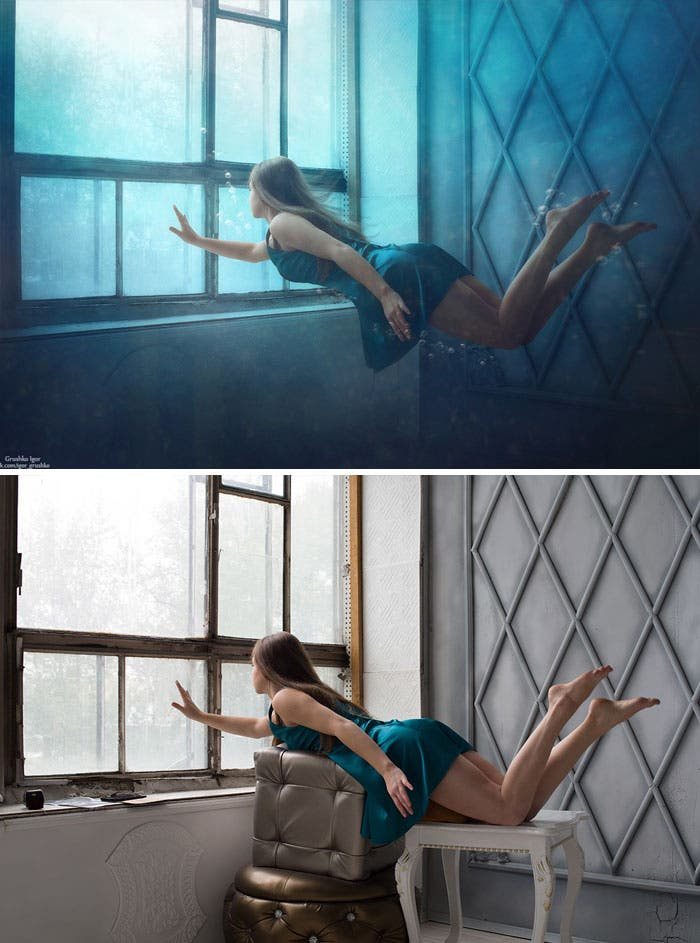 Internet photographies Photoshop montage modification beauté imagination créativité