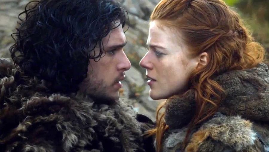 jon, ygritte, game of thrones, couple