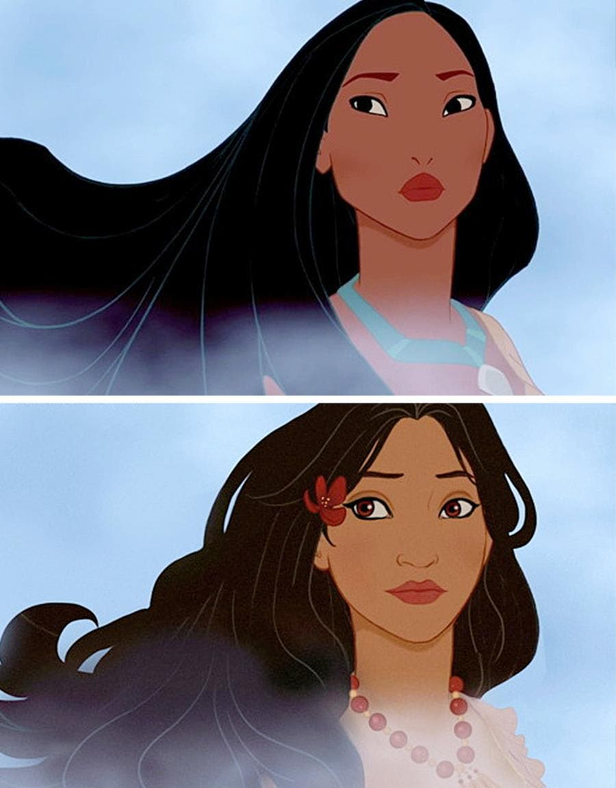 princess, disney, nationality, pocahontas