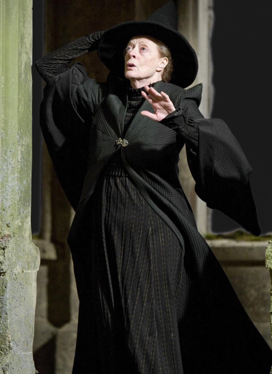 harry potter, personnages, astro, minerva