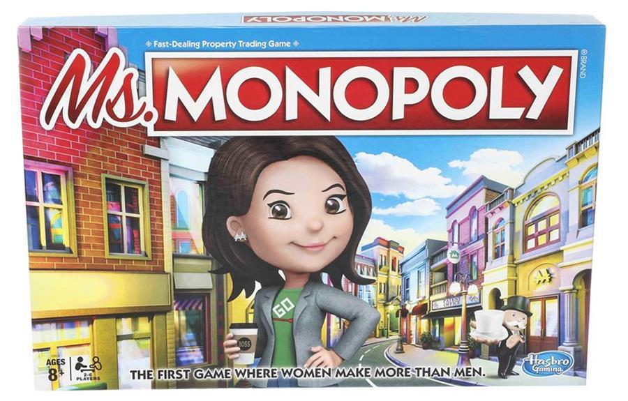 Hasbro lance un Monopoly dénonçant les inégalités salariales hommes/femmes