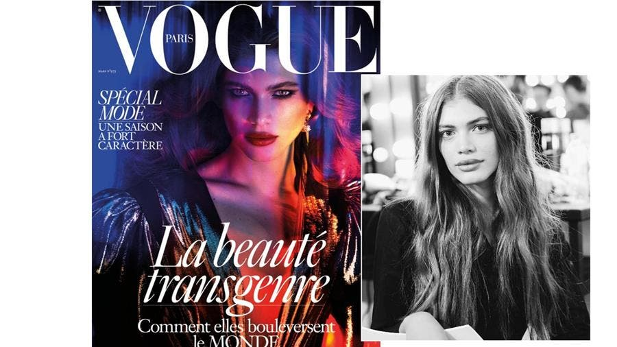 couverture, vogue, valentina sampaio