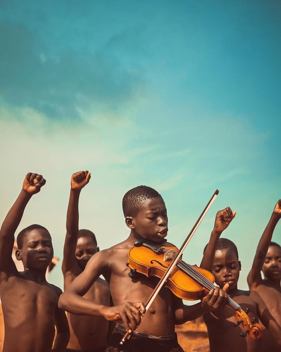 photo, finaliste, agora awards, violon