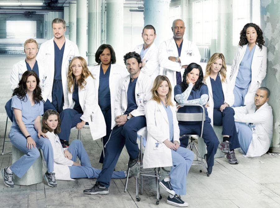 personnages, grey's anatomy