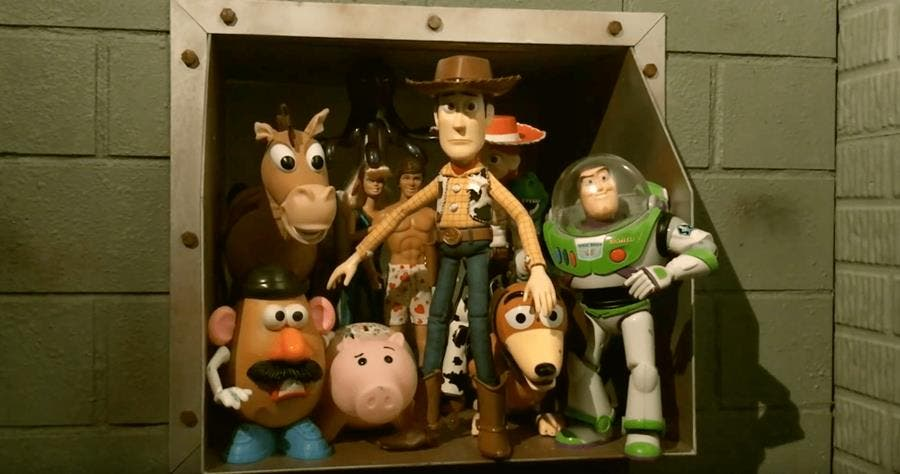 toy story, stop motion