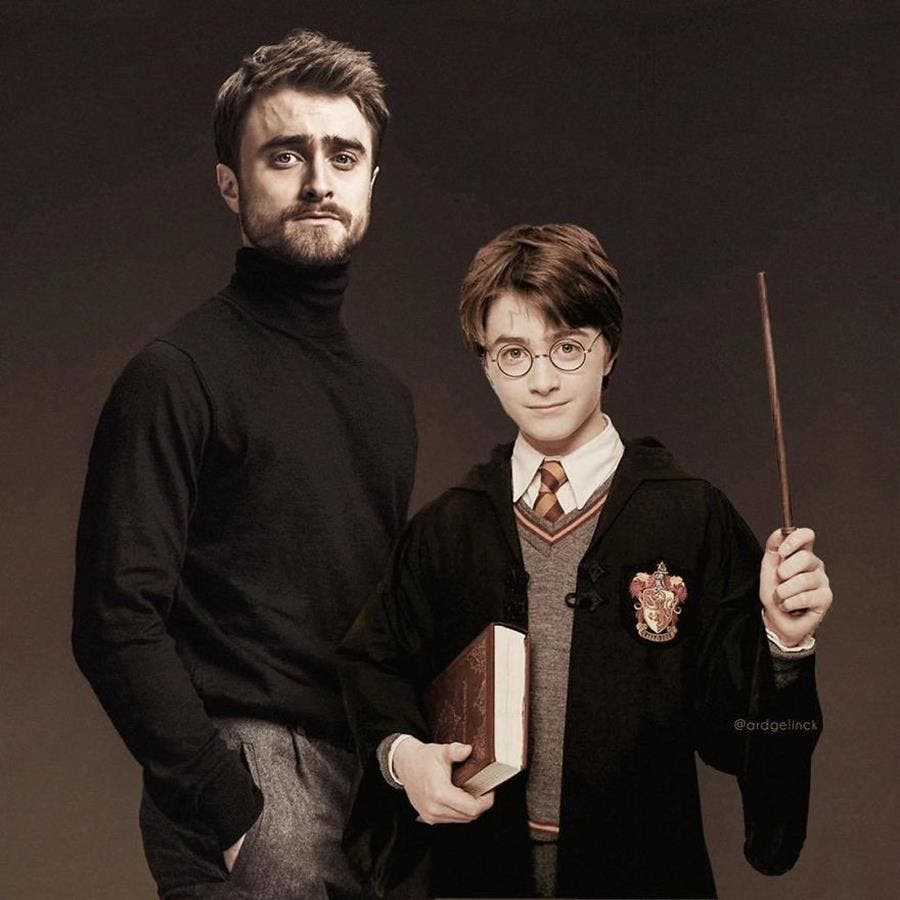 ard gelinck, photo, jeune, daniel radcliffe