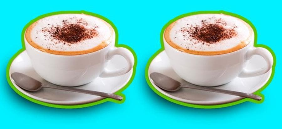 100 calories, calories, aliment, capuccino