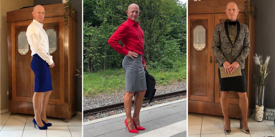 Il prouve que les jupes et les talons ne sont pas que pour les femmes