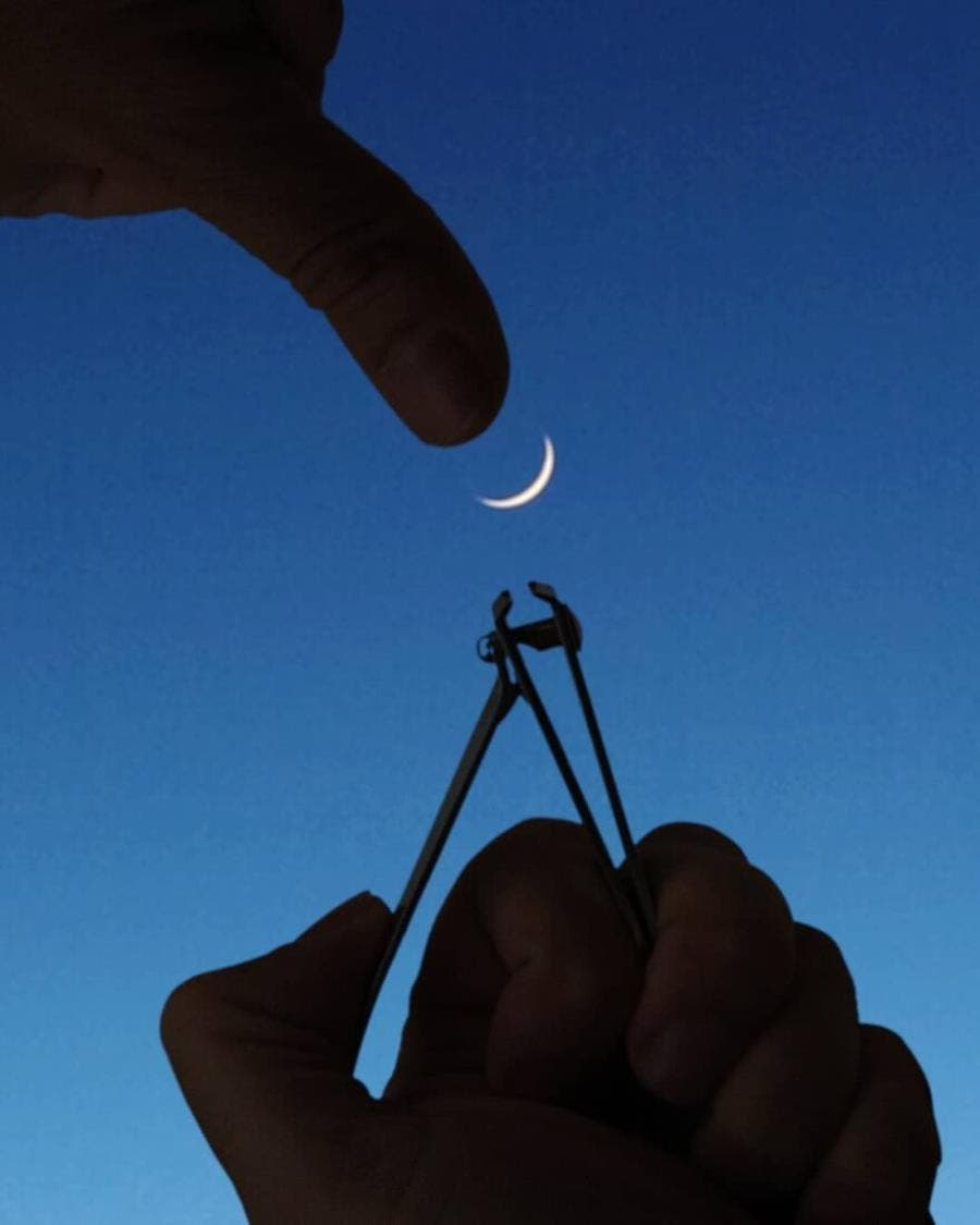 hugo suissas, photo, perspective, ongles, lune
