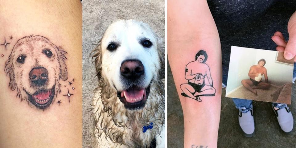 12 tatouages qui racontent de poétiques histoires d'amour